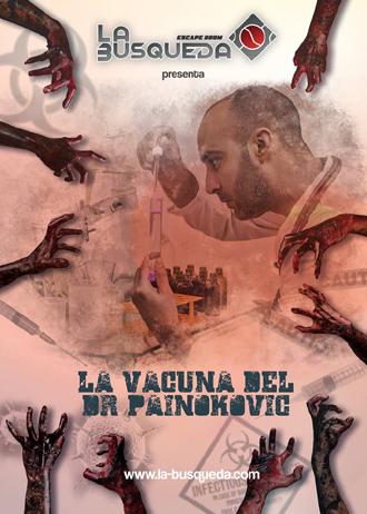 Reservar Escape Room en Sevilla - La Vacuna del Dr. Painokovic