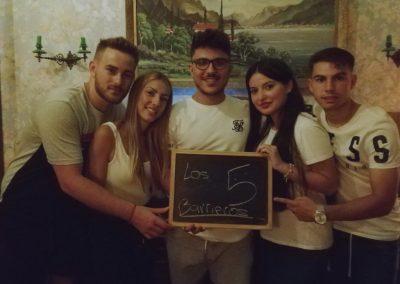 LOS 5 BARRIEROS