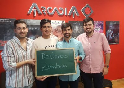 DOCTORES ZOMBIES